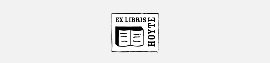 Ex Libris Hoyte de Ranitz