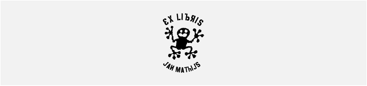 Exlibris Jan Matthijs van Dam