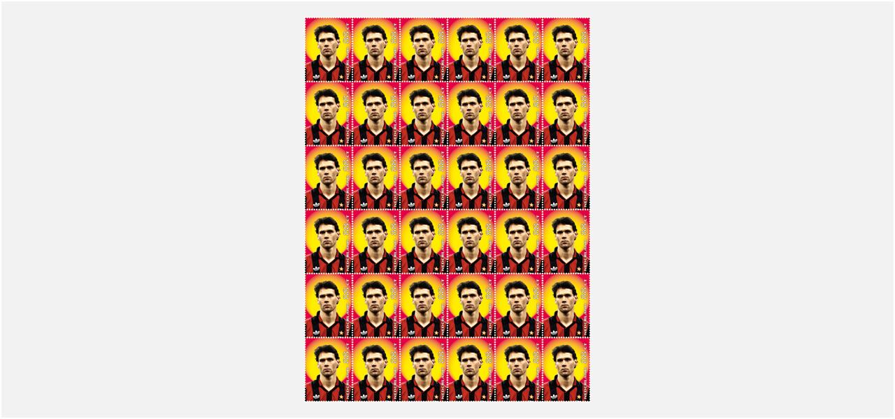 Marco van Basten postzegel