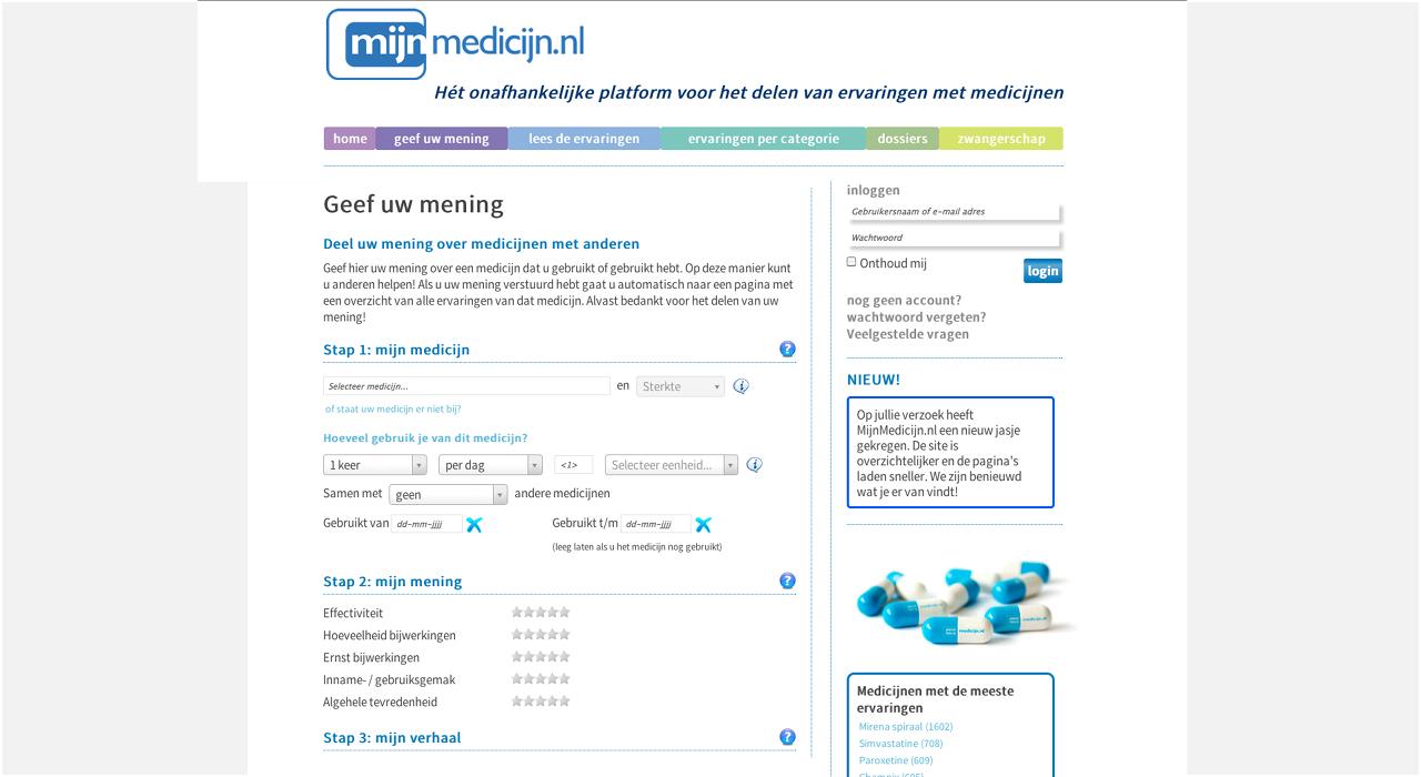 MijnMedicijn_Web_mening