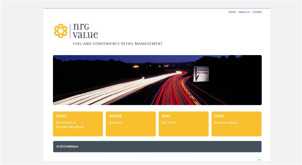 NRGValue Website