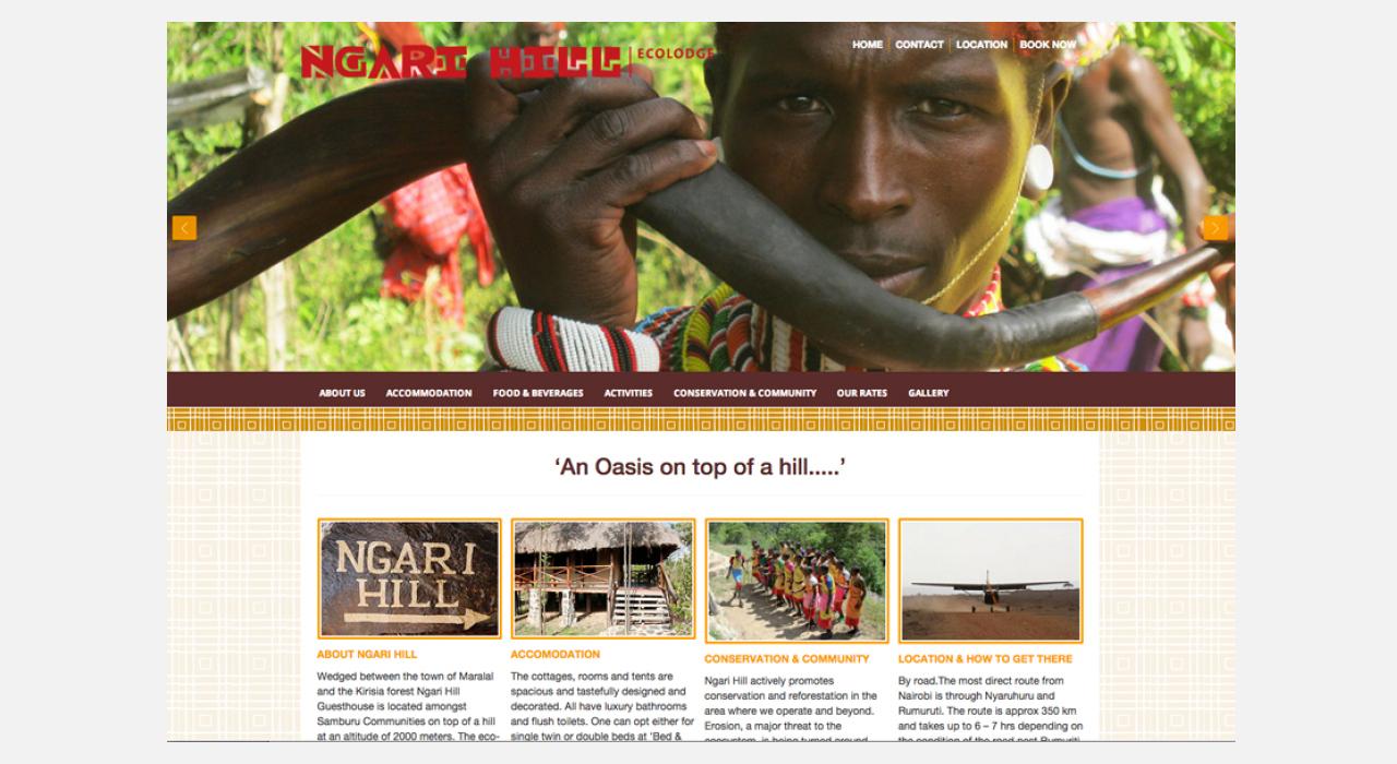 Ngari Hill Homepage