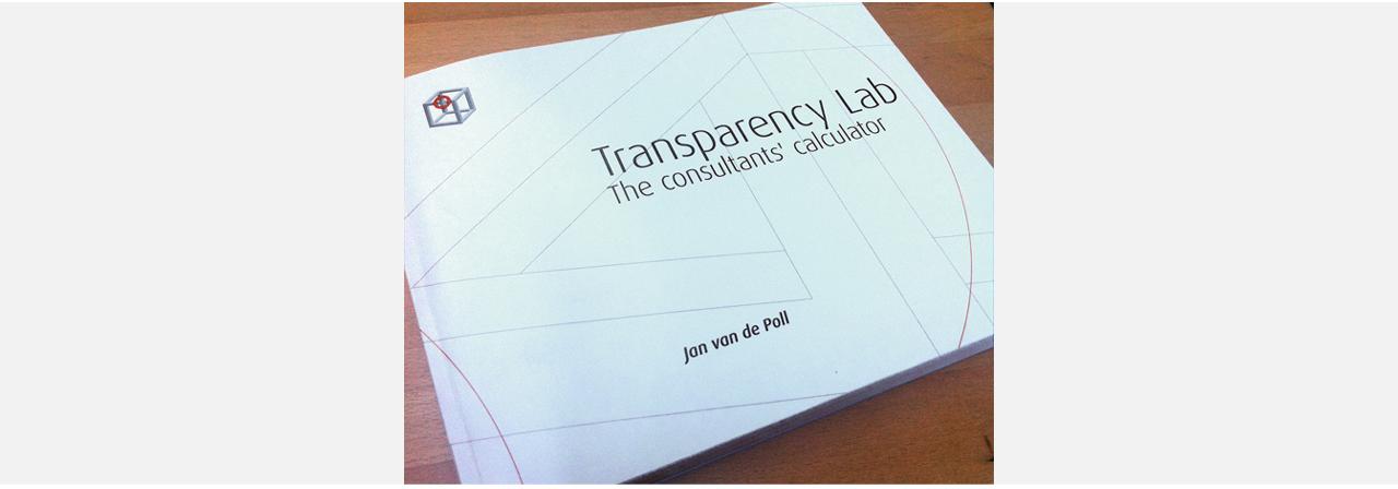 Transparency Lab_cover Boek