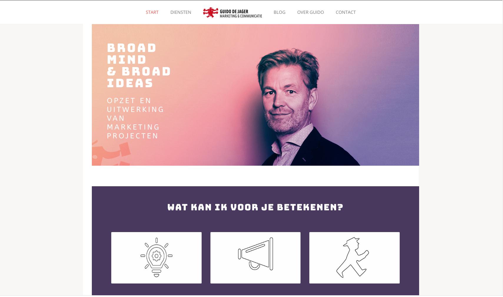 Guido de Jager website